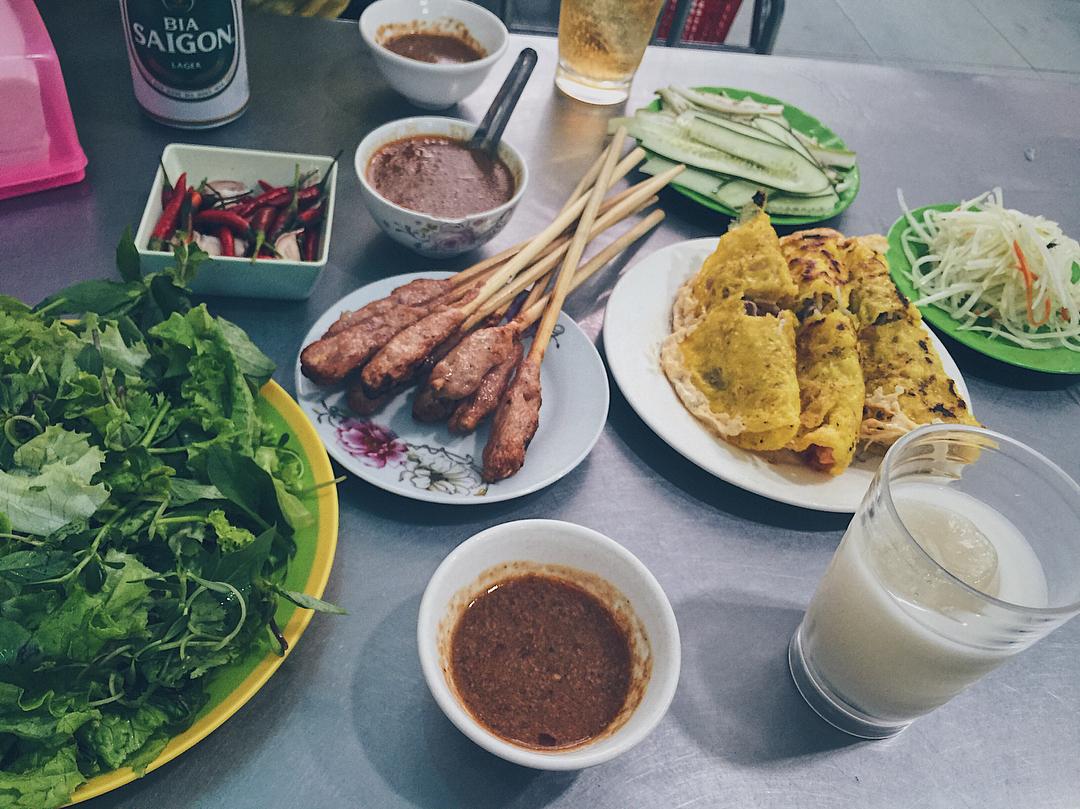 Bánh xèo ngon ở Đà Nẵng