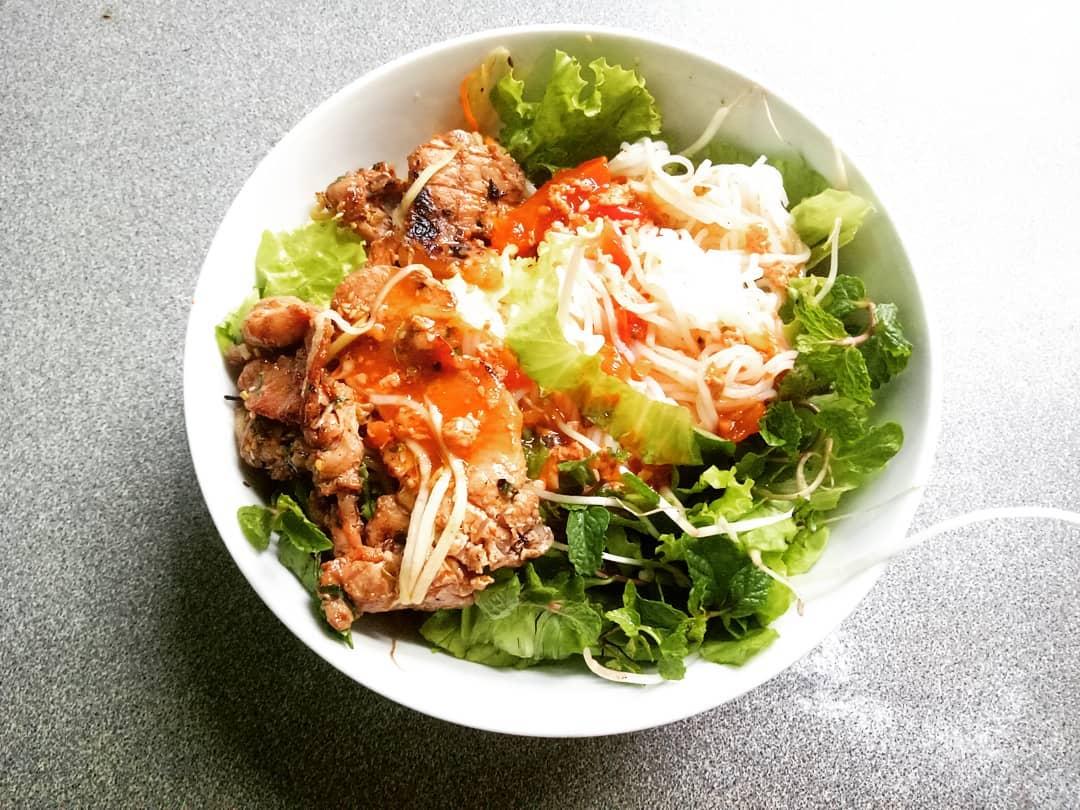 Bún thịt nướng ngon ở Đà Nẵng