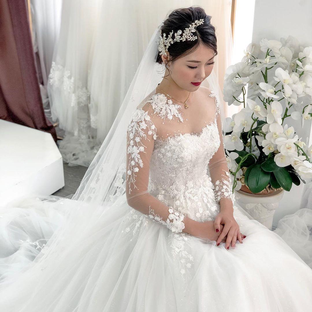 chất liệu váy cưới tốt
